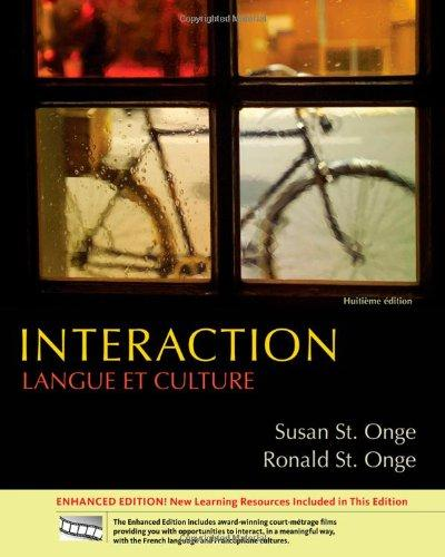Interaction: Langue et culture, Enhanced