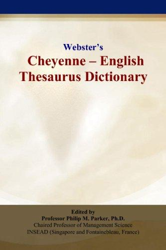 Websters Cheyenne - English Thesaurus Dictionary