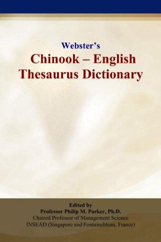 Websters Chinook - English Thesaurus Dictionary