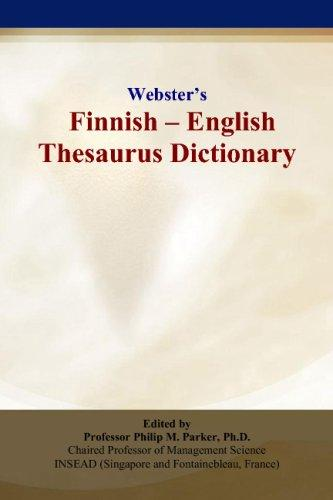 Webster's Finnish - English Thesaurus Dictionary | Rent 9780497834920 | 0497834928