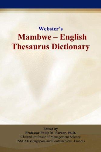 Webster's Mambwe - English Thesaurus Dictionary