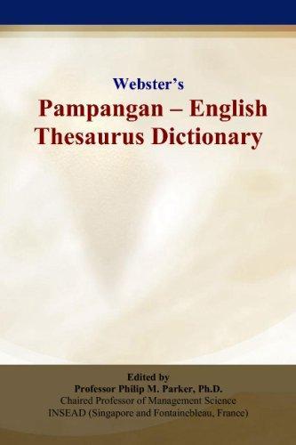 Webster's Pampangan - English Thesaurus Dictionary