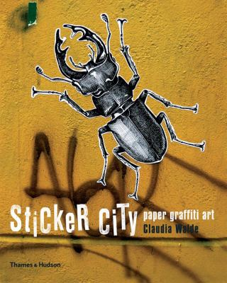 Sticker City Paper Graffiti Art