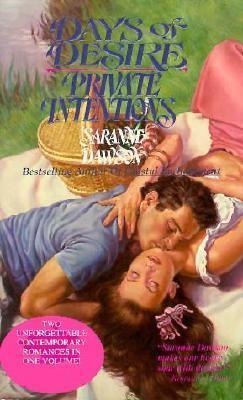 Days of Desire - Private Intentions - Saranne Dawson - Mass Market Paperback