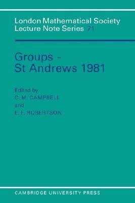 Groups: St. Andrew's 1981
