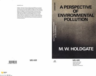 Environment of tomorrow by martin w holdgate
