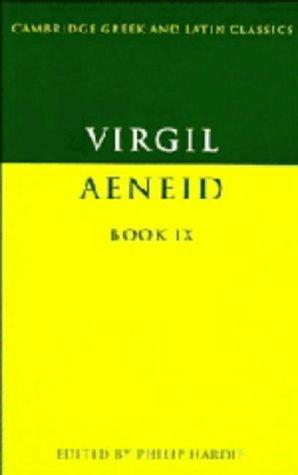 The Aeneid (Cambridge Greek and Latin Classics, Vol. 9)