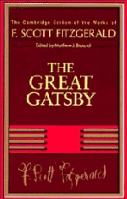 new essays on the great gatsby by matthew joseph bruccoli To great neck, long island, and it was there that he started writing his new novel  in a letter  as matthew bruccoli rightly says, gatsby achieved its greatness in.