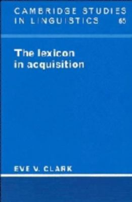 Lexicon in Acquisition