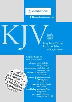 Cambridge KJV Reference Bible With Apocrypha Black Flexibind With Gilt Edges and Ribbon Marker