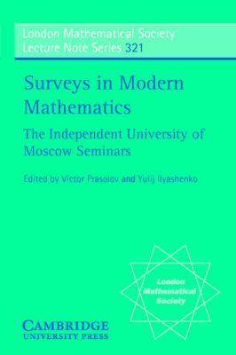 Surveys In Modern Mathematics