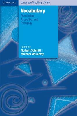 Vocabulary Description, Acquisition and Pedagogy