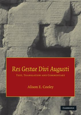 Res Gestae Divi Augusti: Text, Translation and Commentary