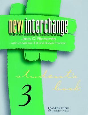New Interchange Students Book 3 English for International Communication