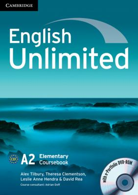 English Unlimited Elementary Coursebook with e-Portfolio