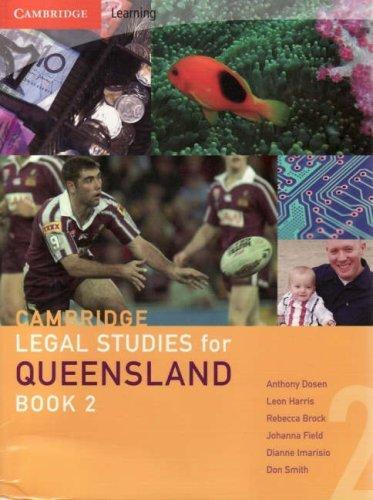 Cambridge Legal Studies for Queensland Book 2 (Bk. 2)