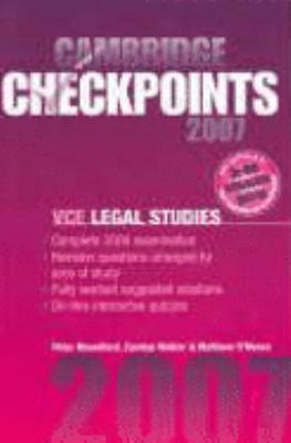Legal Studies 2007