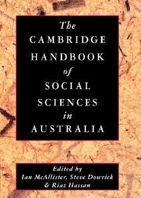 Cambridge Handbook of Social Sciences in Australia