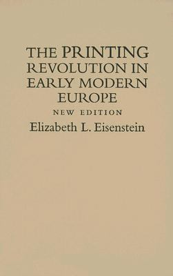 Printing Revolution Early Modern Europe