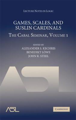 Games, Scales and Suslin Cardinals: The Cabal Seminar