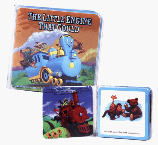 Little Engine That Could Bath Book: Bath Books