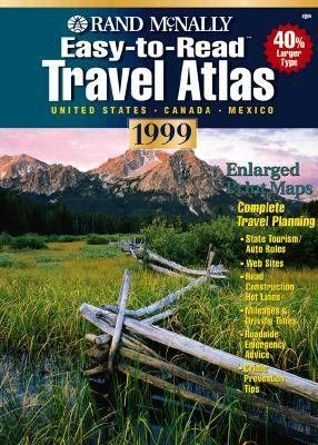 Rand McNally 99 Road Atlas and Trip Planner United States Canada Mexico