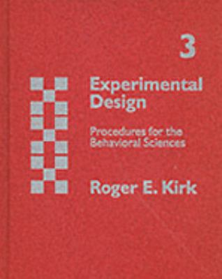 Experimental Design Procedures for the Behavioral Sciences