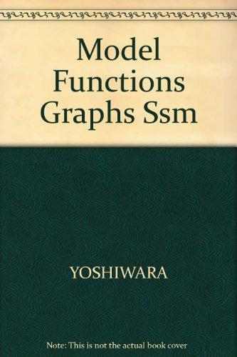 Model Functions Graphs Ssm