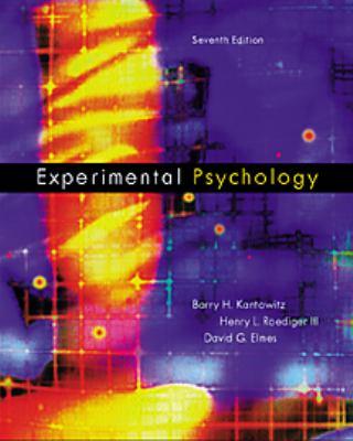 Experimental Psychology Understanding Psychological Research