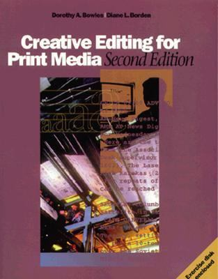Creative Editing F/print Media-w/3disk
