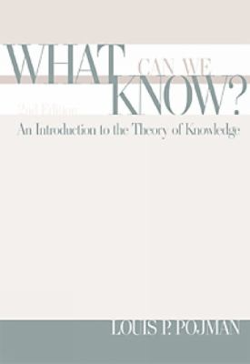 an introduction to the theory of knowledge Knowledge, mind and nature an introduction to theory of knowledge and the philosophy of mind (review.