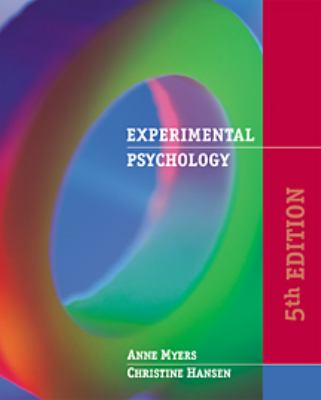 Experimental Psychology With Infotrac