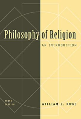 Philosophy of Religion An Introduction