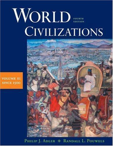 World Civilization from 1500