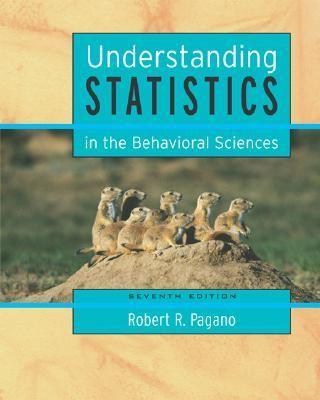 Understanding Statistics in the Behavioral Sciences With Infotrac