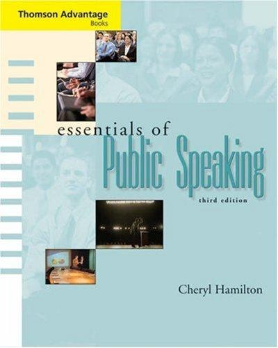 Cengage Advantage Books: Essentials of Public Speaking (with SpeechBuilder Express(TM) and InfoTrac) (Advantage Series)