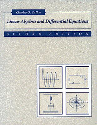 Linear Algebra+diff.equations