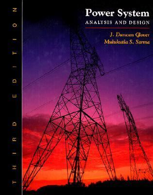 power system analysis and design glover 3rd edition pdf
