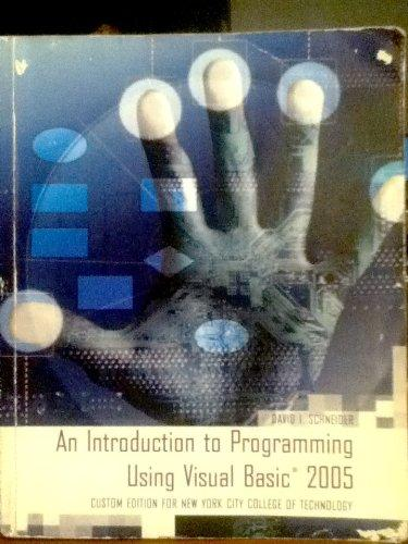 an introduction to programming using visual Solutions to computer programming challenges and exercises solutions to computer programming challenges and exercises home coding homework solutions to computer programming challenges and exercises recently added starting out with visual c#.