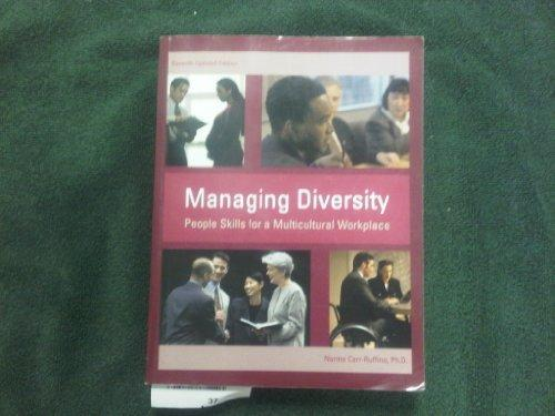 Managing Diversity, People Skills for a Multicultural Workplace (7th Updated Edition)