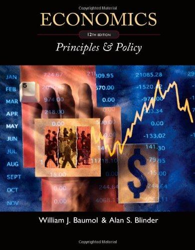 Economics: Principles and Policy