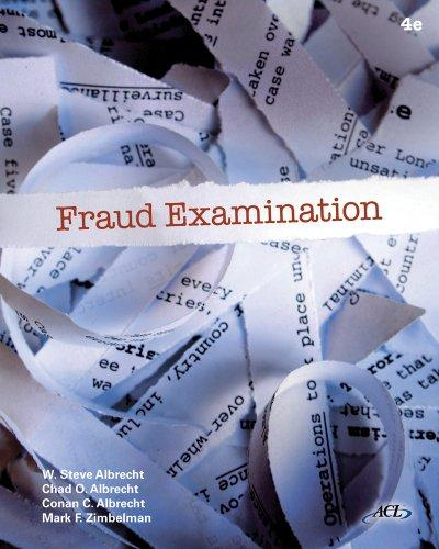 Fraud Examination (Book Only)