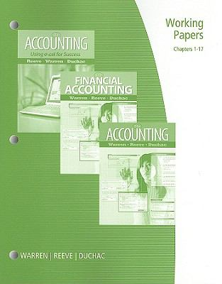 Financial Accounting Working Papers Chpters 1-17