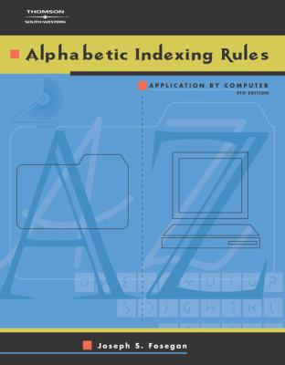 Alphabetic Indexing Rules Application by Computer