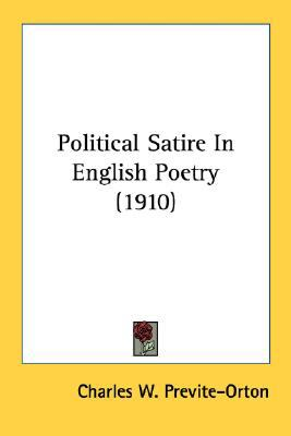 Political Satire In English Poetry (1910)
