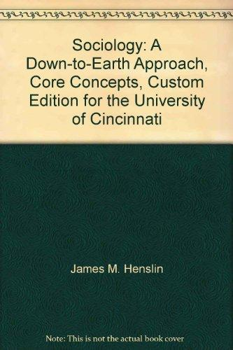 sociology a down to earth approach pdf free