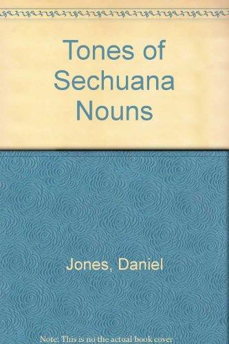 TONES OF SECHUANA NOUNS