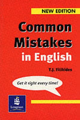 Common mistakes in english t.j.fitikides