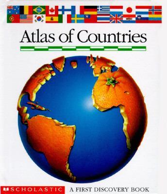 Atlas of Countries - Jewnesse Gallimard - Hardcover