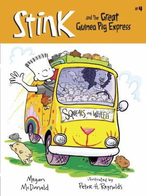 Stink And The Great Guinea Pig Express (Turtleback School & Library Binding Edition) (Stink (Numbered Pb))
